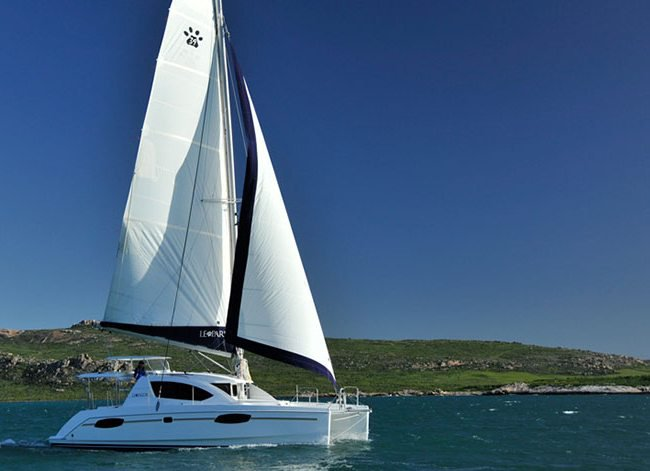 Explore the picturesque views of Grenada onboard Leopard 384