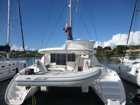 Boating is fun with a Catamaran in True Blue