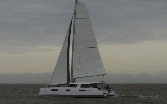 Indulge in luxury onboard this splendid sailing catamaran