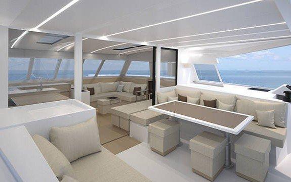 Catamaran boat for rent in La Paz