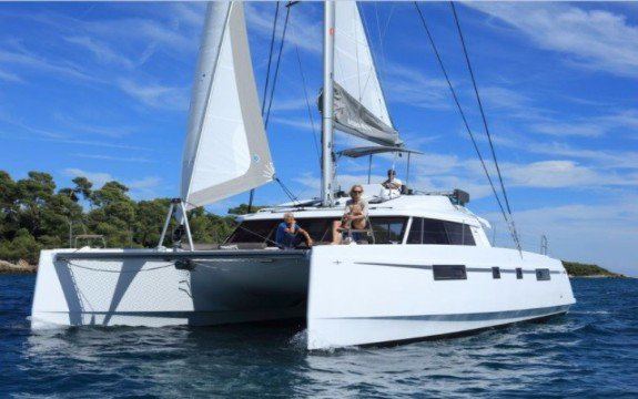 Experience pure luxury & comfort onboard 46' Nautitech Fly Owner Version