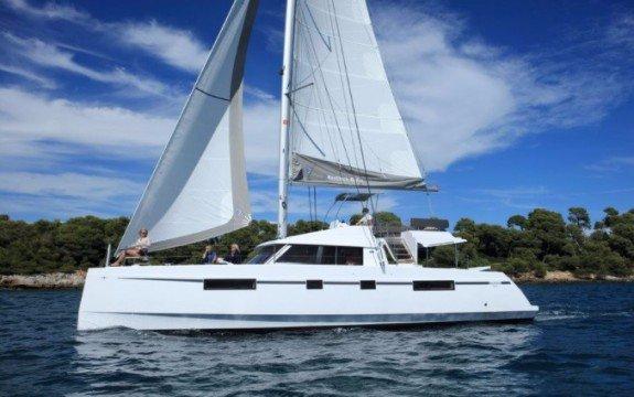 Experience pure luxury & comfort onboard 46' Nautitech