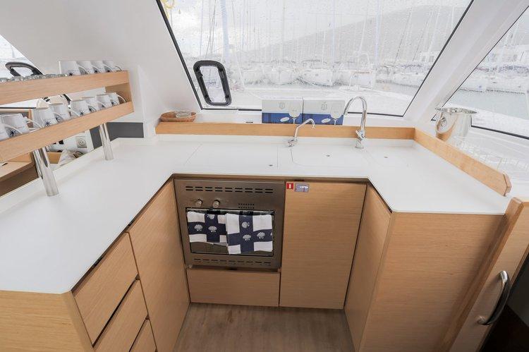 Catamaran boat rental in British Virgin Islands,