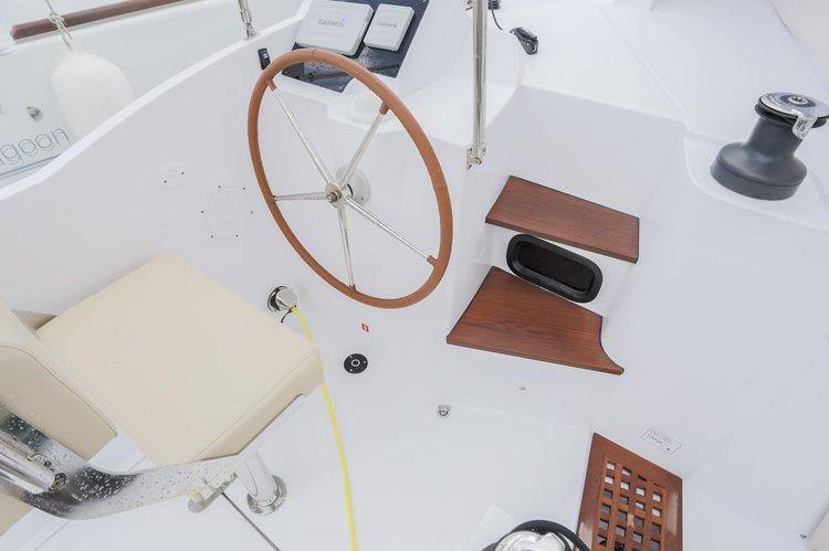 Boat for rent Nautitech Rochefort 39.0 feet in British Virgin Islands,