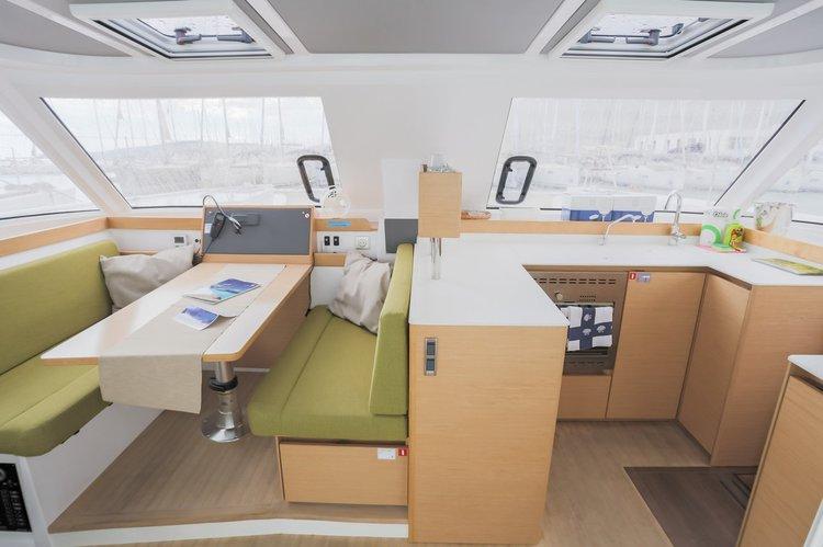Catamaran boat for rent in British Virgin Islands