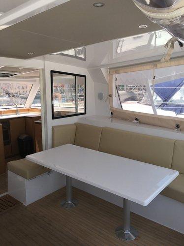 Boat for rent Nautitech Rochefort 39.0 feet in Cyclades, Greece