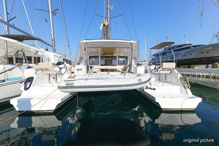 This 39.0' Nautitech Rochefort cand take up to 8 passengers around Split region