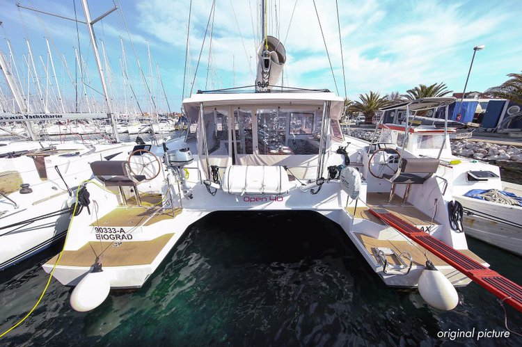 Boat for rent Nautitech Rochefort 39.0 feet in Marina Kornati, Biograd,