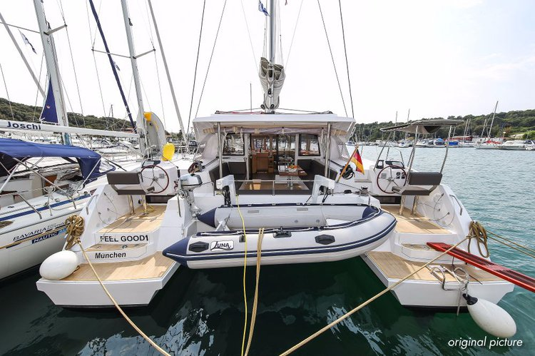 Charter this amazing Nautitech Rochefort in Zadar region