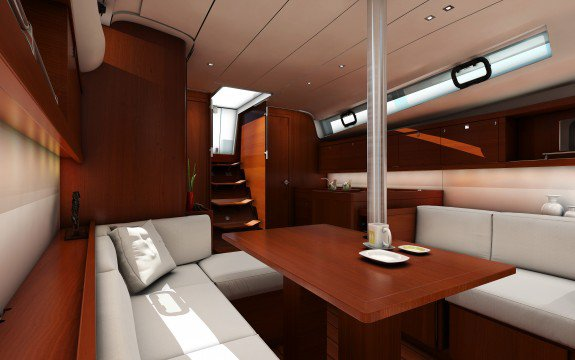 This 40.9' Oceanis cand take up to 8 passengers around