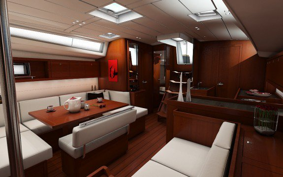 Discover Le Marin surroundings on this Custom Oceanis boat