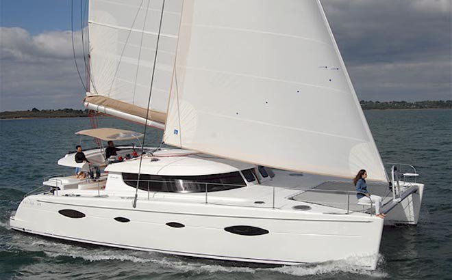 Enjoy Martinique onboard Salina 48 Evolution