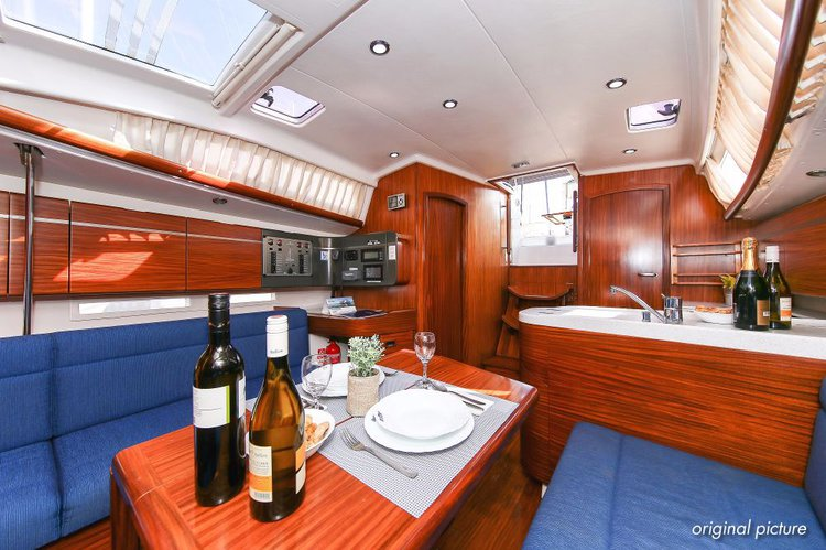 Boat for rent Sunbeam Yachts 36.0 feet in Marina Kornati, Biograd,