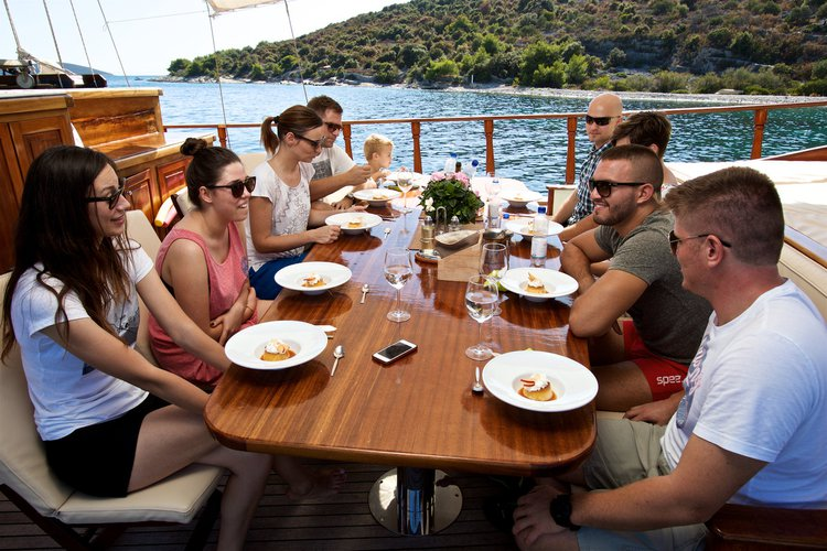 Discover Split region surroundings on this Gulet Queen of Adriatic Yener Yachts boat