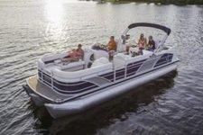 Set your dreams in motion in Michigan onboard 25' Aqua Patio
