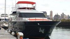 Charter 81' elegant motor yacht in New York