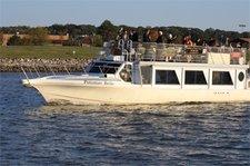 Cruise the amazing Alexandria skyline onboard 59' motor yacht