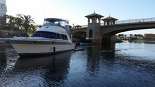 Explore Oxnard onboard this elgant motor yacht