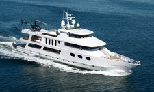 Indulge in the luxury on board 143' UNIQ Super Yacht, includes 2 Jet Skies
