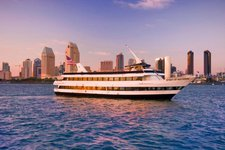 Enjoy amazing San Diego Skyline onboard this elegant yacht