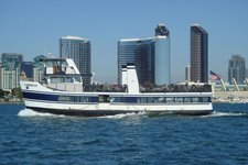 Set Sail in San Diego onboard this sleek ferry