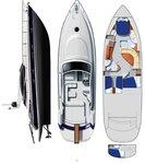thumbnail-2 Ferretti Yachts Group 49.0 feet, boat for rent in Split region, HR