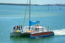 Charter this amazing catamaran in Fort Laudredale, Florida
