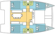 thumbnail-6 Bali 40.0 feet, boat for rent in St. George'S, GD