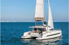 Explore Bas du Fort onboard 43' sailing catamaran