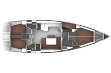 thumbnail-7 Bavaria Yachtbau 49.0 feet, boat for rent in Ionian Islands, GR