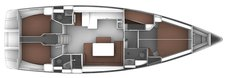 thumbnail-6 Bavaria Yachtbau 49.0 feet, boat for rent in Ionian Islands, GR