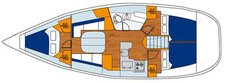 thumbnail-11 Beneteau 37.1 feet, boat for rent in True Blue, GD
