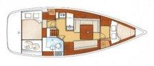 thumbnail-8 Beneteau 37.8 feet, boat for rent in True Blue, GD