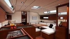 thumbnail-6 Bénéteau 45.0 feet, boat for rent in Split region, HR