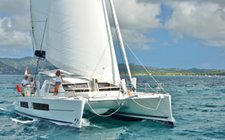 Explore Guadeloupe onboard 42' Catana Carbon Infusion