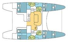 thumbnail-3 Catana 42.97 feet, boat for rent in Phuket, TH