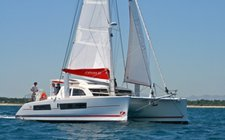 Set sail in Grenada onboard this beautiful catamaran