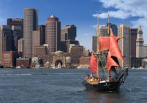Set sail in Boston onboard this classic & elegant schooner