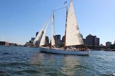 Have fun in Boston onboard this classic Schooner