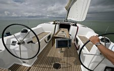 Indulge in luxury onboard this elegant cruising monohull
