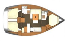 thumbnail-5 Dufour 39.1 feet, boat for rent in St. George'S, GD