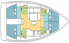thumbnail-6 Dufour 46.0 feet, boat for rent in Le Marin, MQ