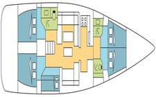 thumbnail-3 Dufour 49.54 feet, boat for rent in St. George'S, GD