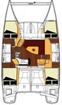 thumbnail-2 Fountaine Pajot 39.0 feet, boat for rent in Split region, HR