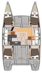 thumbnail-18 Fountaine Pajot 43.0 feet, boat for rent in Zadar region, HR