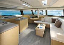 thumbnail-2 Fountaine Pajot 49.0 feet, boat for rent in Split region, HR