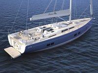 thumbnail-10 Hanse Yachts 56.0 feet, boat for rent in Split region, HR
