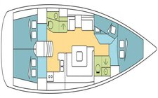 thumbnail-9 Jeanneau 45.0 feet, boat for rent in Palma, Illes Balears, ES