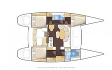 thumbnail-12 Lagoon 37.89 feet, boat for rent in Blue Lagoon, VC