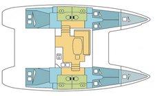 thumbnail-7 Lagoon 40.02 feet, boat for rent in Le Marin, MQ